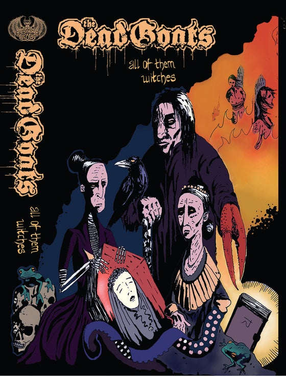 Image of The Dead Goats • All Of Them Witches (Tape / Orange, Yellow, Black)