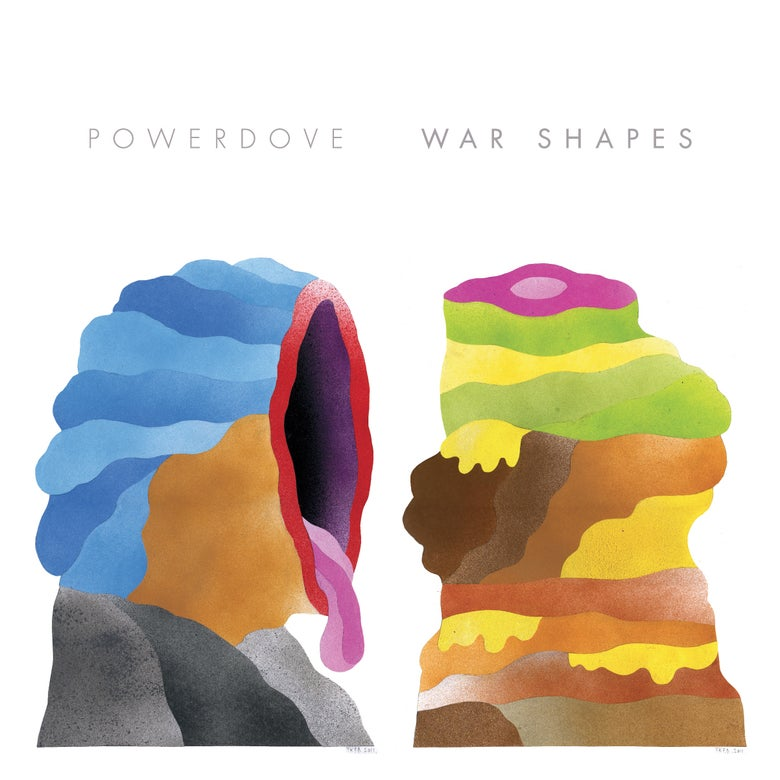 Image of Powerdove - 'War Shapes'