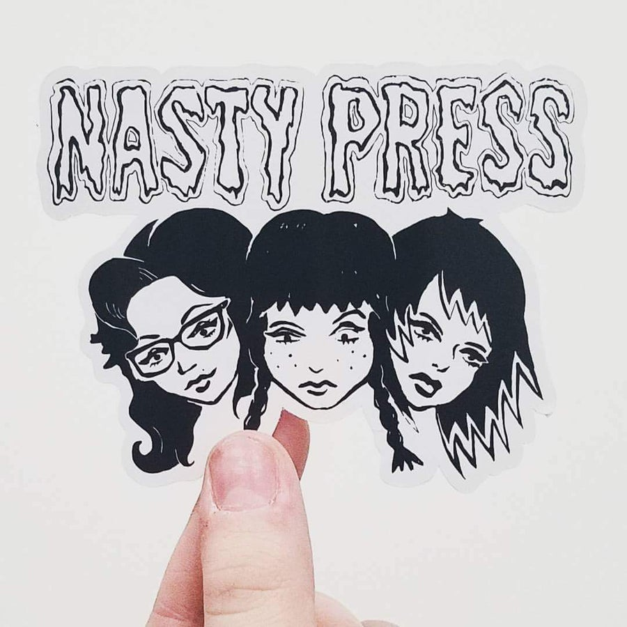 Image of Nasty Press Sticker