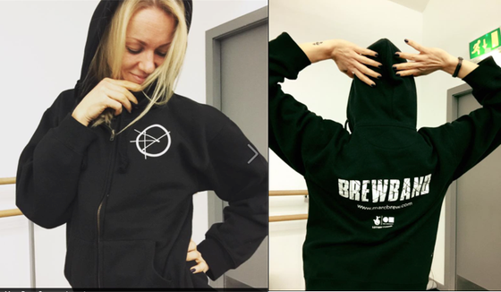 Image of BREWBAND Zipped Hoodie
