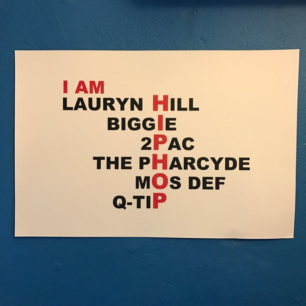 Image of I AM HIP HOP POSTER