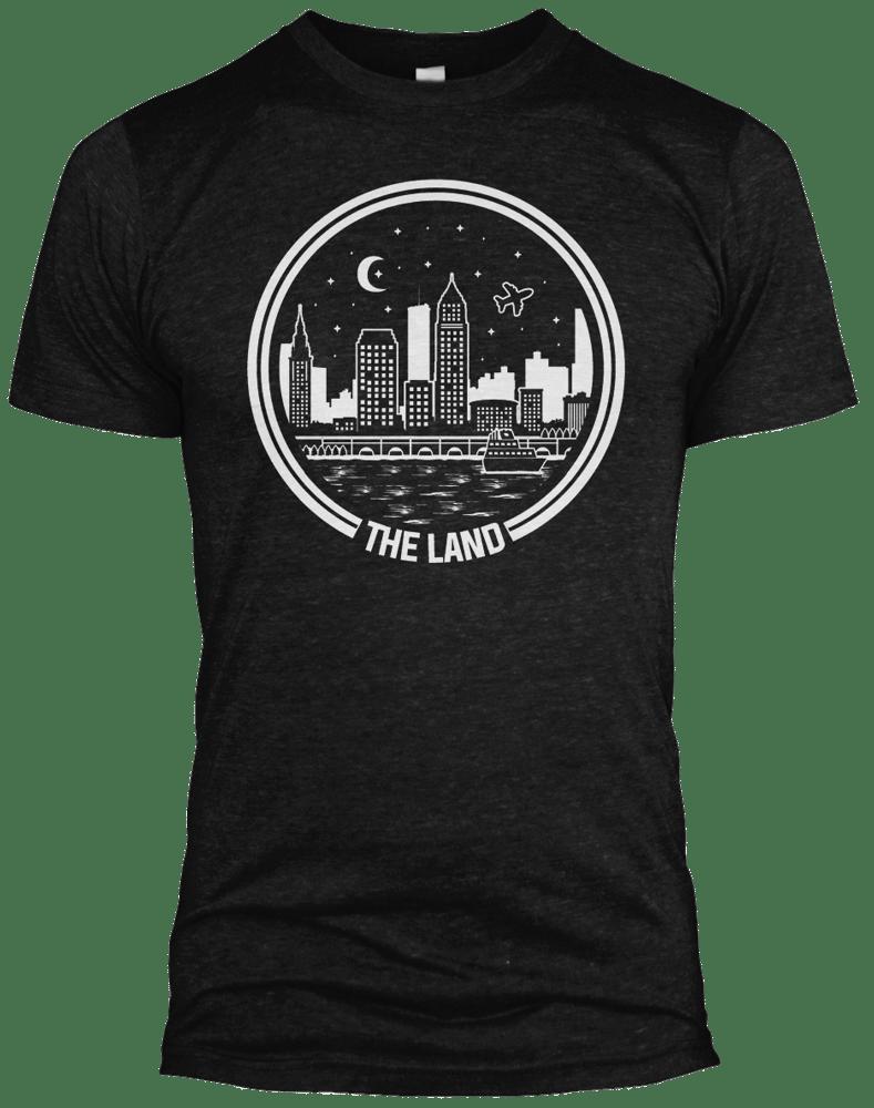 Image of The Land Black Tri-blend Shirt