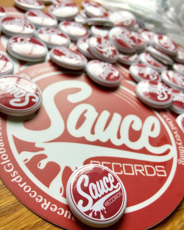 Image of Sauce Button/Sauce Sticker