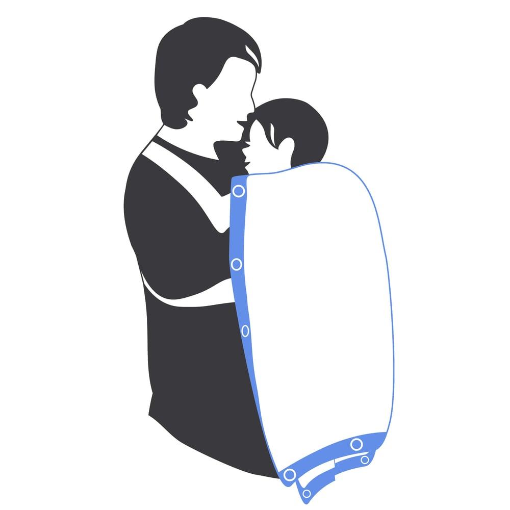 "Image of Sunsnapz Baby Blanket ""ROYAL"""