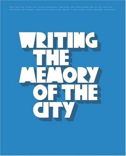 Image of Writing the Memory of the City