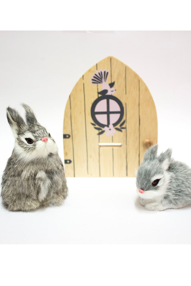 Image of The Fairy Door and bunny magical combo