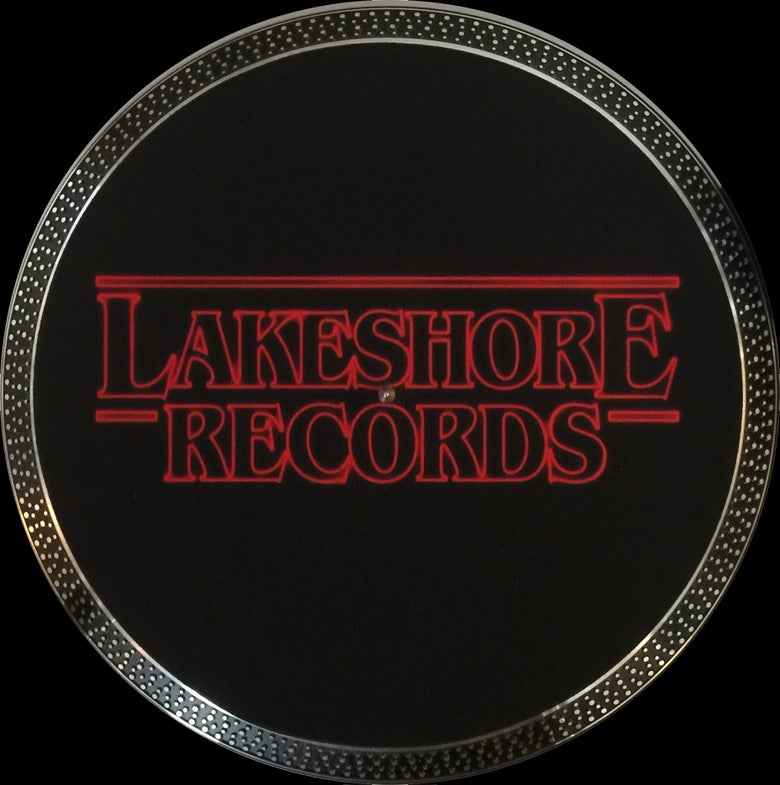 Image of Lakeshore Records 'Stranger Things' Logo Slipmat