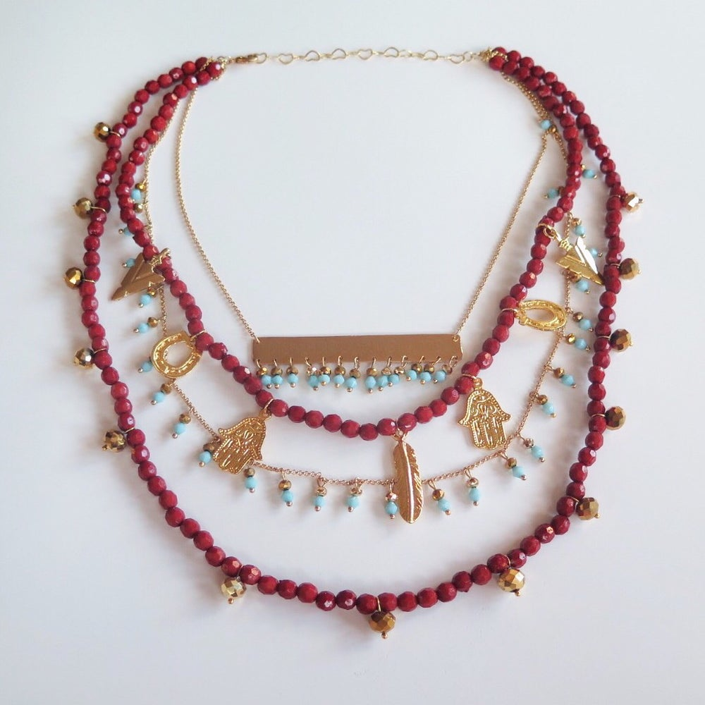 Image of Disfruta Cada Momento Necklace