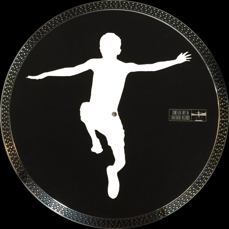 Image of Lakeshore Records 'Jumping Boy' Logo Slipmat