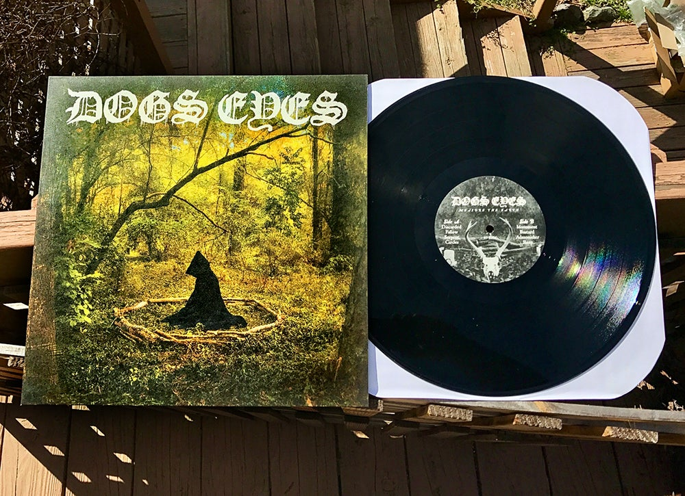 """Image of Dogs Eyes - Measure the Earth - 12"""" Vinyl"""