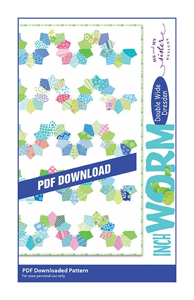 Image of Inchworm - Double Wide Dresden PDF pattern
