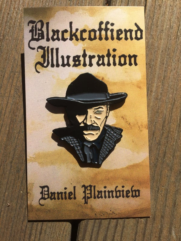 Image of Daniel Plainview Pin