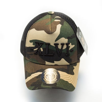 Image of Camo Green Mesh XLVI