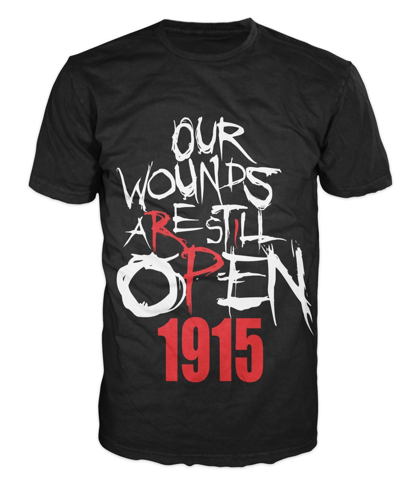 Image of The Classic Open Wounds 1915 T-Shirt