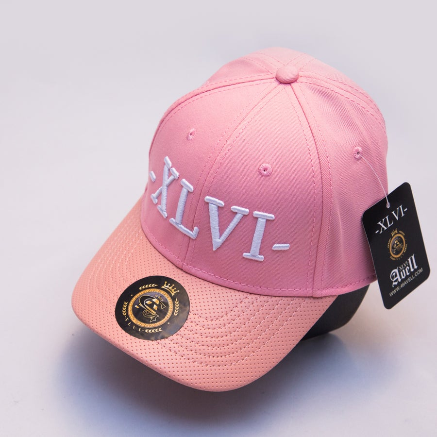 Image of *LIMITED EDITION* Pink With Pink Peak XLVI Cap