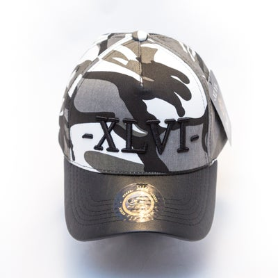 Image of Camo Black With Black Peak