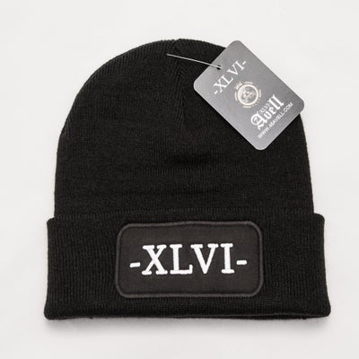 Image of Black XLVI Beanie