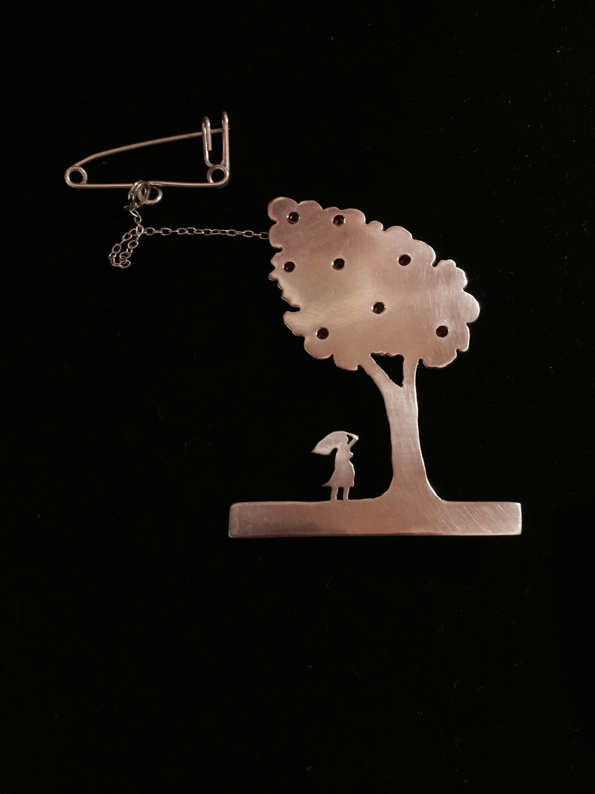 And There It Stood Limited Edition Brooch