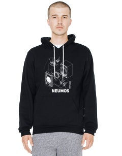 Image of Speaker Diagram Graphic Hoodie