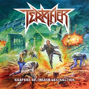 "Image of TERRIFIER - WEAPONS OF THRASH DESTRUCTION | ""NYDM SPRINGBASH ISSUE"" (Metal Or Death)"