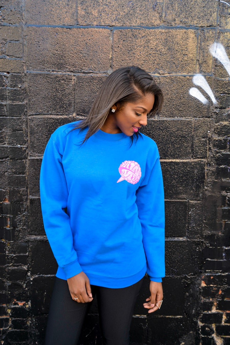 Image of LG Women's 'Royal Blue' Crewneck