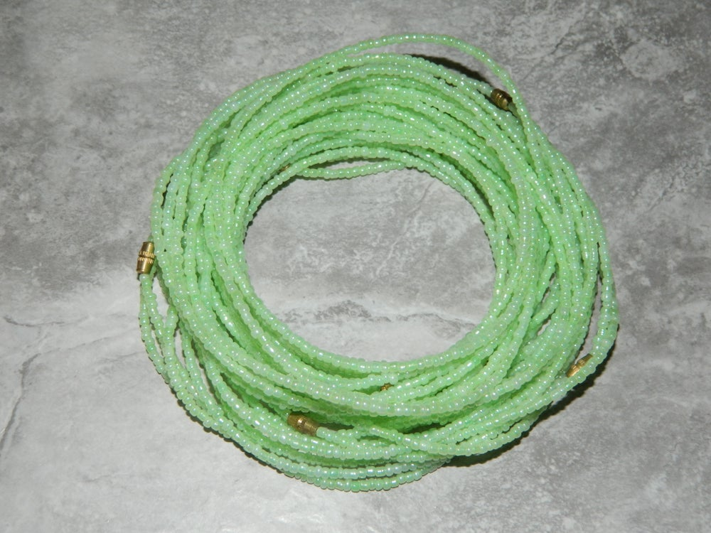 Image of Mint waist bead