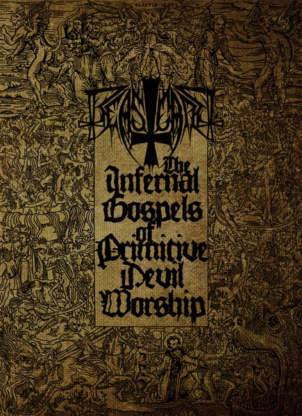 "Image of BEASTCRAFT ""The Infernal Gospels Of Primitive Devil Worship"" A5 Digibook CD + DVD"