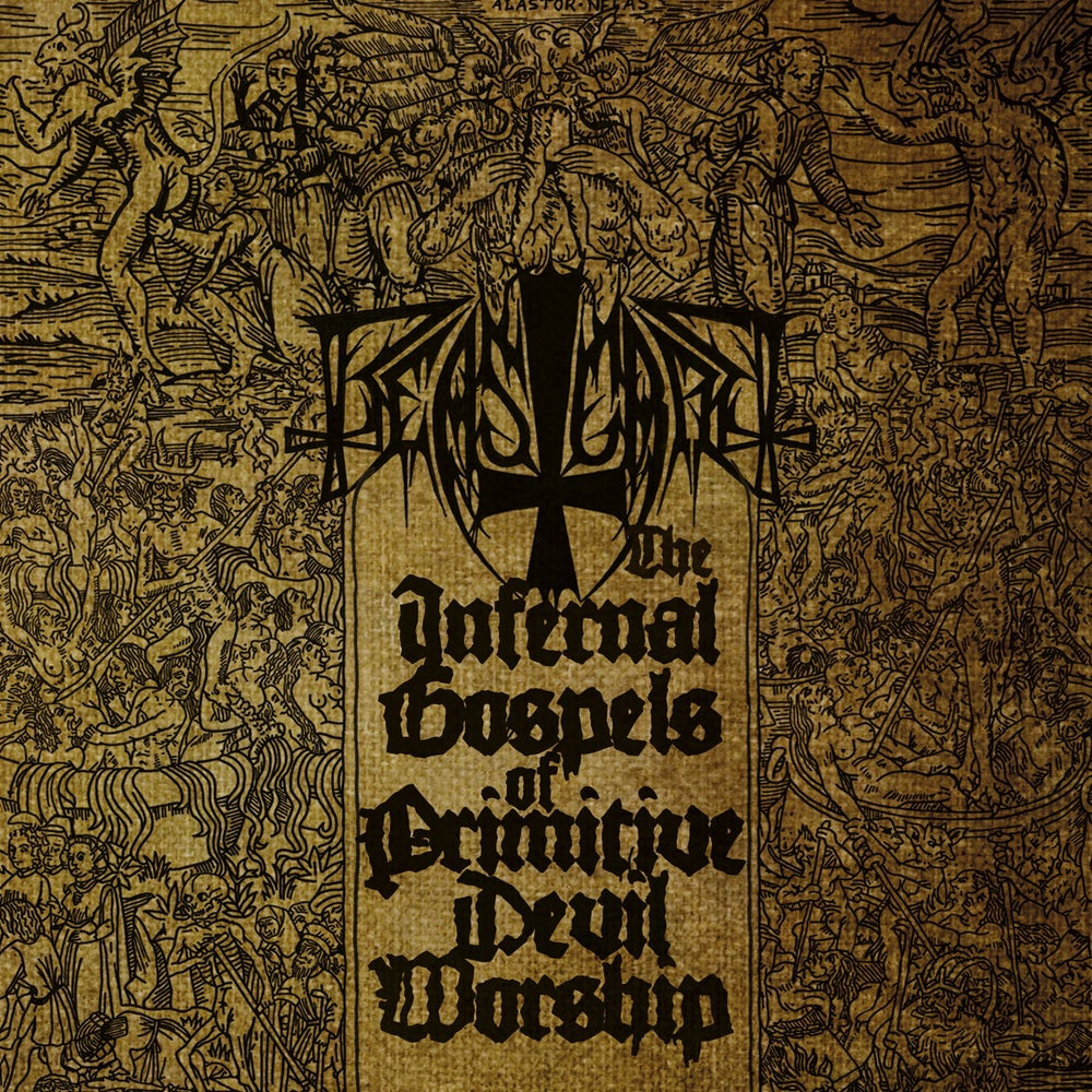 "BEASTCRAFT ""The Infernal Gospels Of Primitive Devil Worship"" CD"