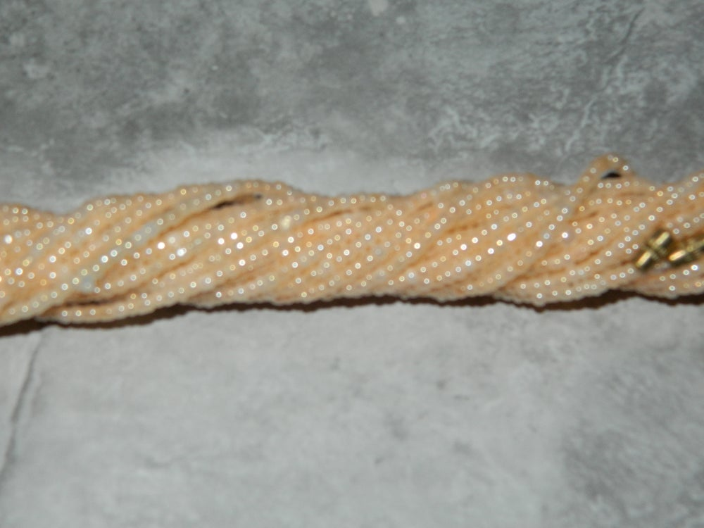Image of Pearl pink waist bead