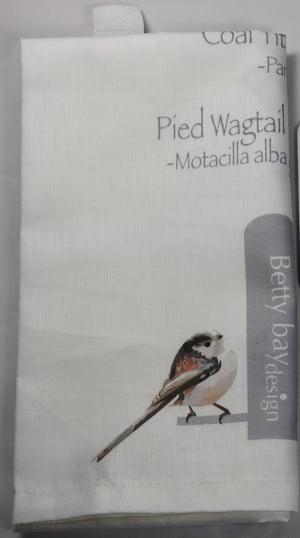 Image of Dickie Bird Tea Towel