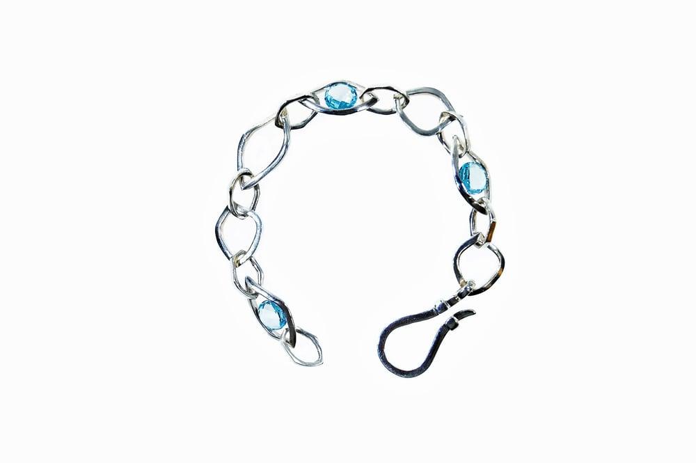 Image of Tratti blu Bracelet