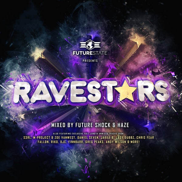 Image of 'Ravestars' - 1x Physical CD Mixed + Unmixed (Digital) *OUT NOW!*