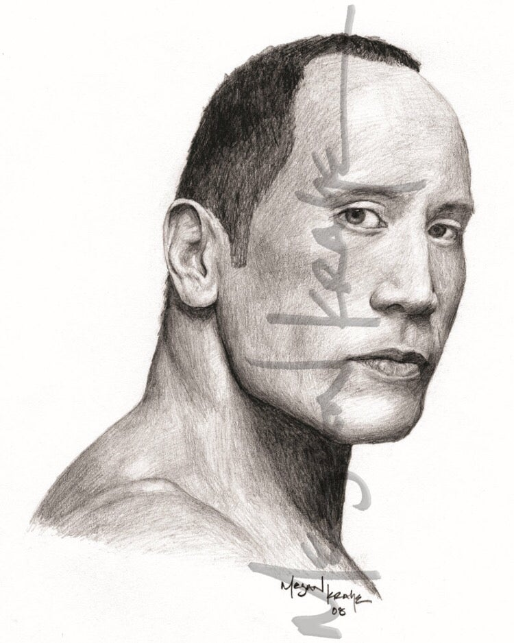 "Image of Dwayne ""The Rock"" Johnson, reprint"