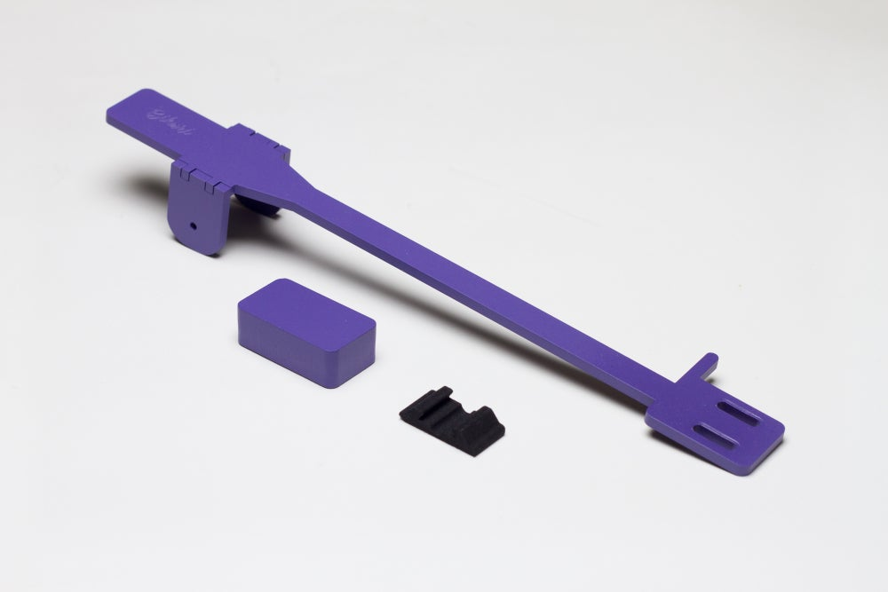 Image of Purple - Bihari Tonearm for PT01 Scratch