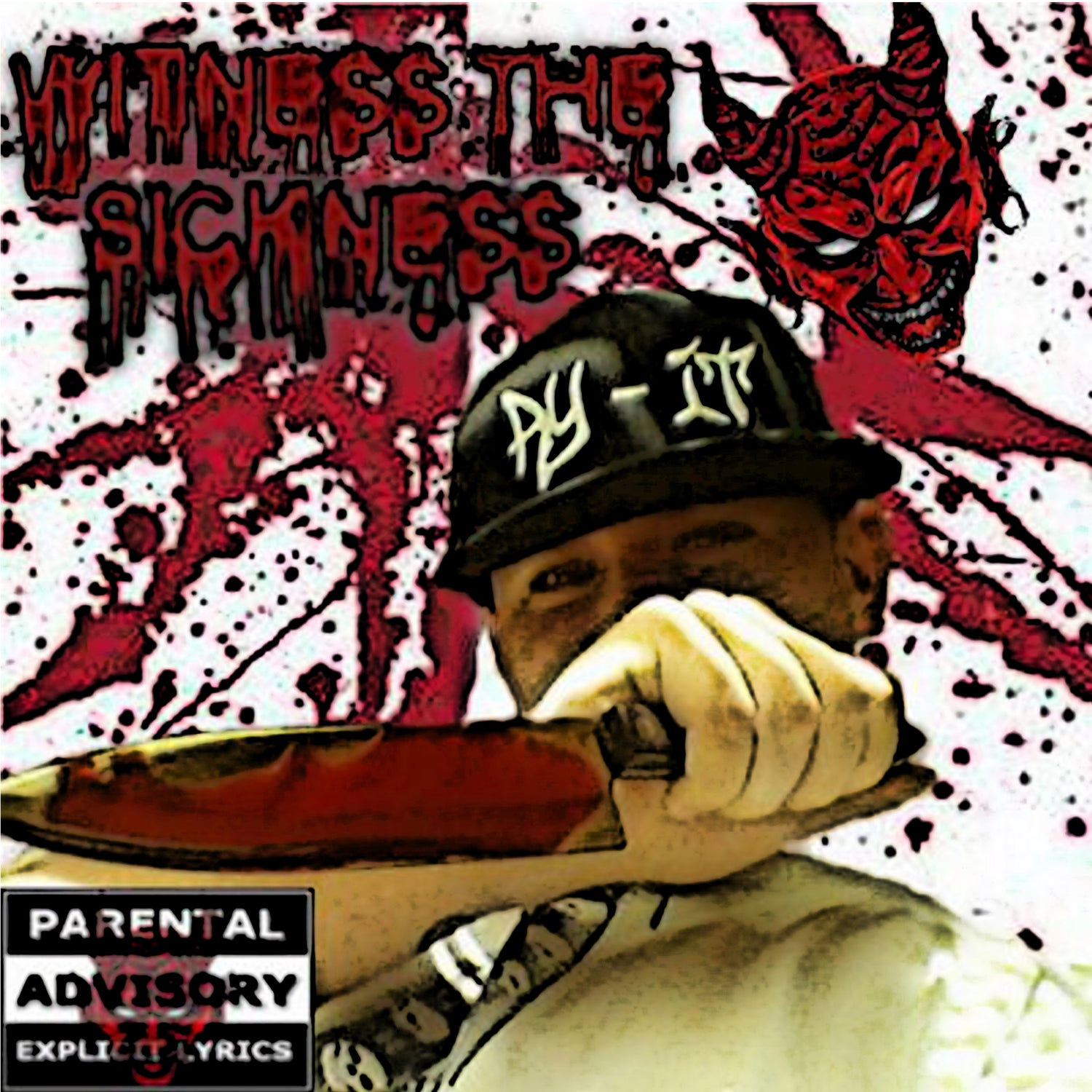 Image of Ry-It - Witness the Sickness CD