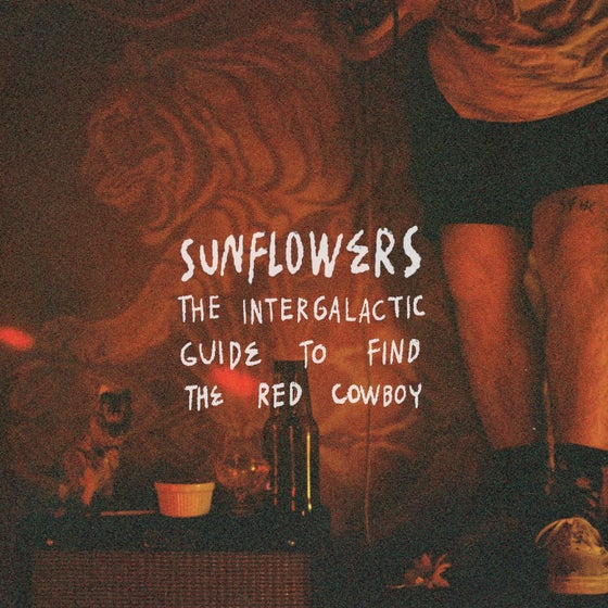 """Image of The Sunflowers  - """"The Intergalactic Guide to Find the Red Cowboy"""" - CD Digisleeve"""
