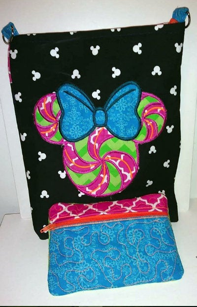Image of Minnie Mouse Candy Cross Body Bag