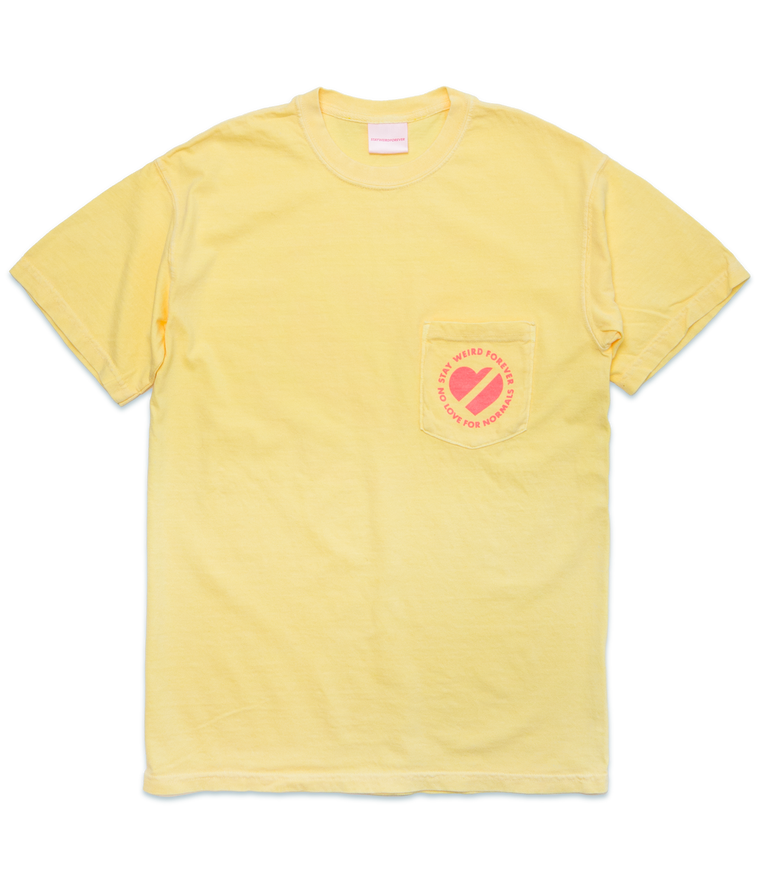 Image of Logo Pocket T, Banana