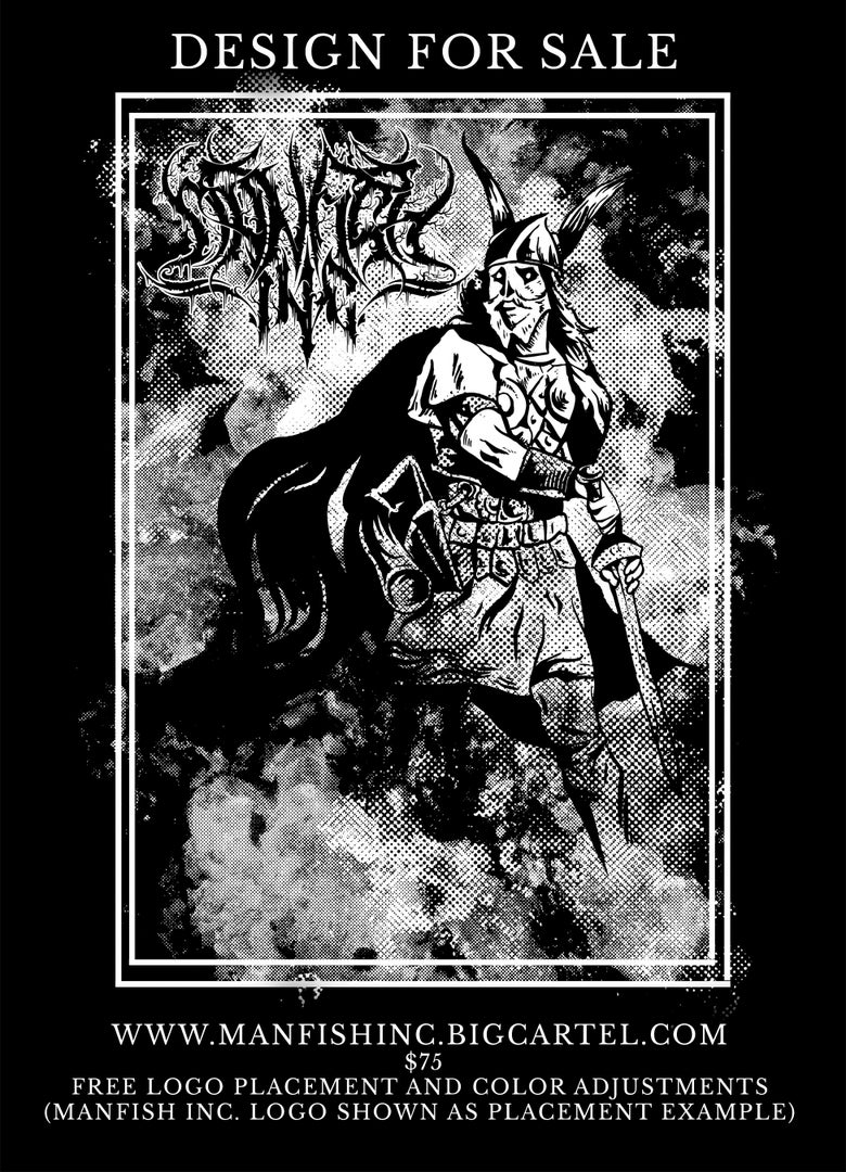 Image of Shirt Design- Viking in the Mist
