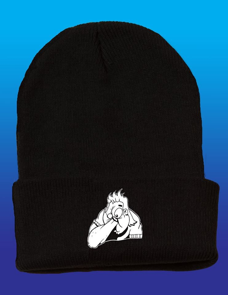 Image of NEW!! Embroidered Beanie (Flip Up Style)