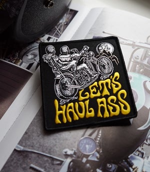 Image of Let's Haul Ass Patch