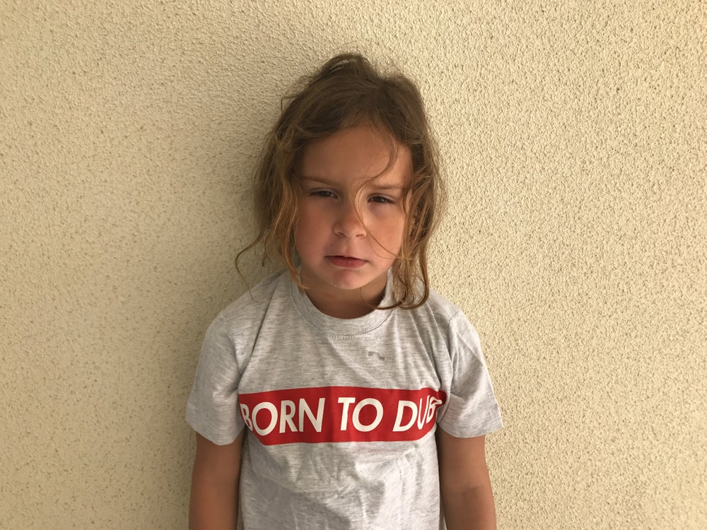 Image of BORN TO DUB T-Shirt (kids) (baby)