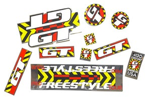Image of 1990 GT PRO FREESTYLE TOUR DECAL SET