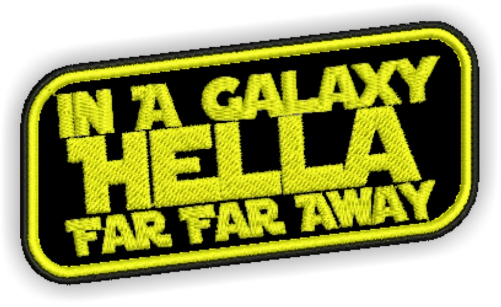 Image of  Galaxy Hella Far Away Patch