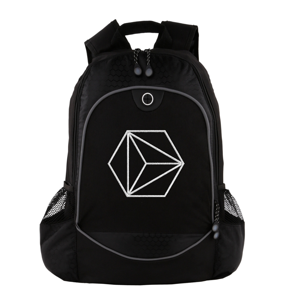 Image of Embroidered Computer Backpack V.II