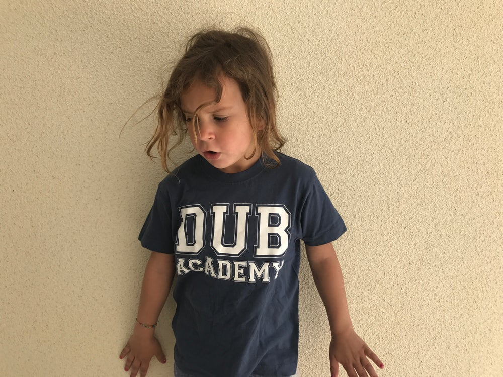 Image of DUB ACADEMY T-shirt (kids)
