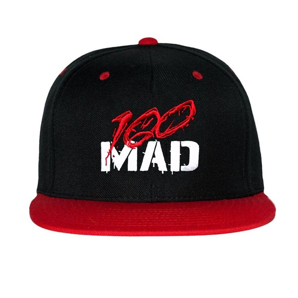 Image of 100 MAD Snapback hat
