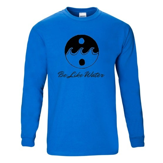 Image of Be Like Water Ultra Cotton™ Long Sleeve T-Shirt
