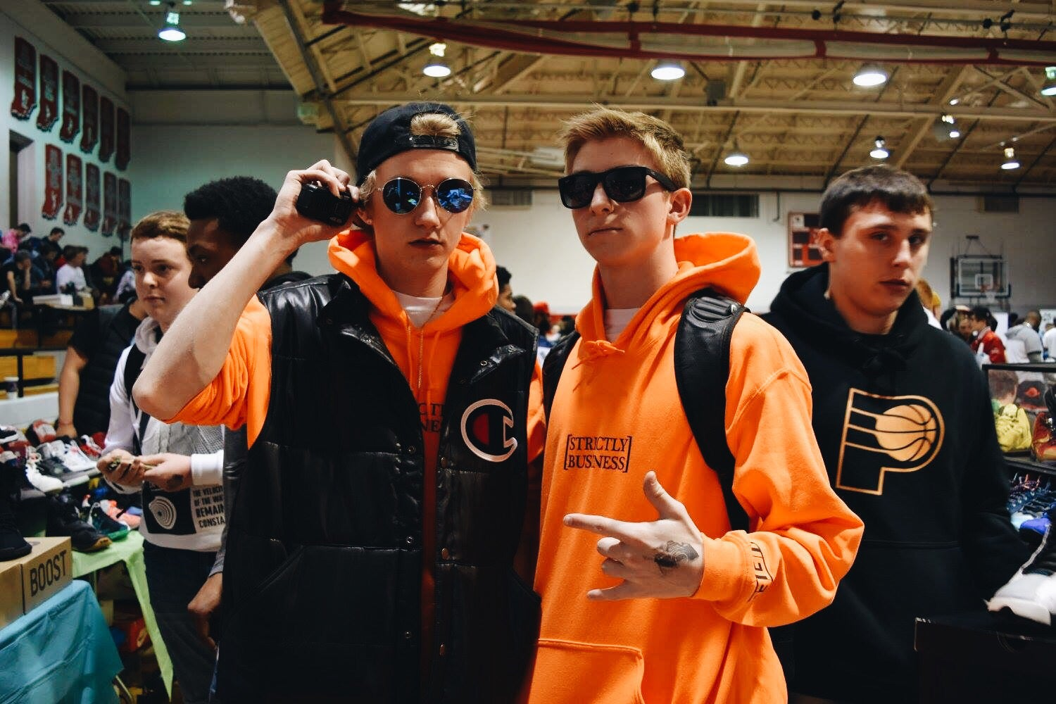 Image of Strictly Business Hoodies