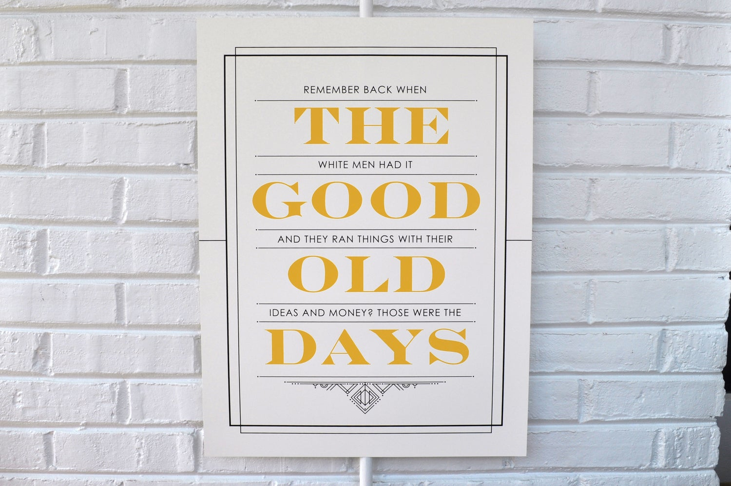 Image of The Good Old Days Poster